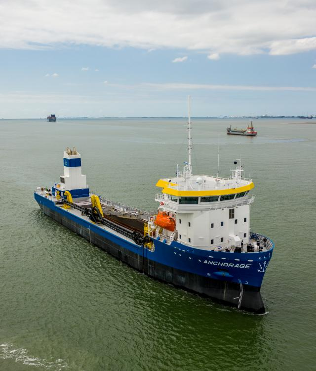 Dredging automation electrification