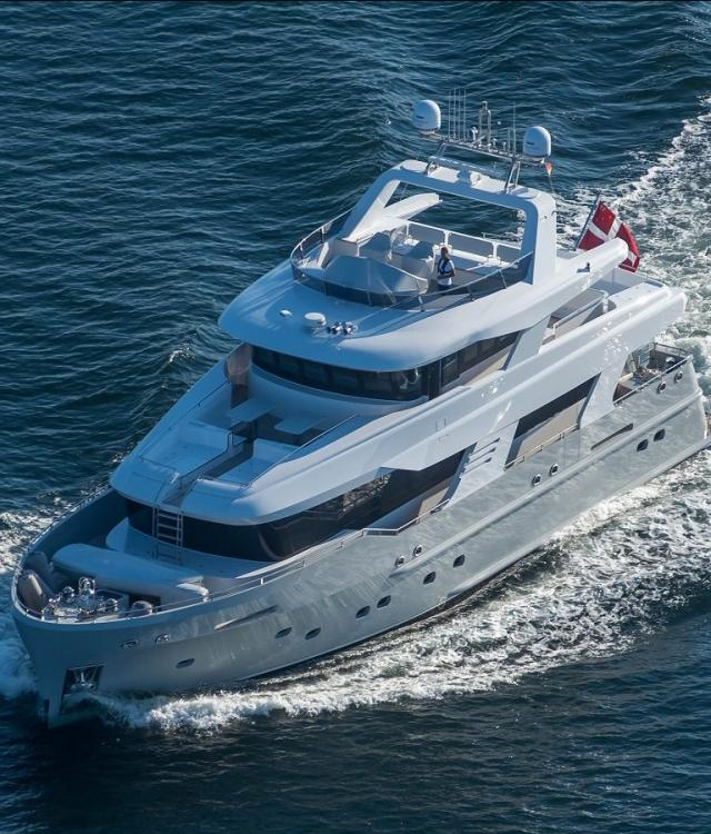 Alewijnse electrical and automation outfitting on hybrid explorer yachts Poseidon and Arizona